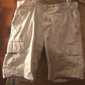 Polo cargo shorts/ tan/ euc/ 32's/ long leg/ 🎬